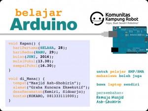 Belajar Arduino - Romadlon 1437